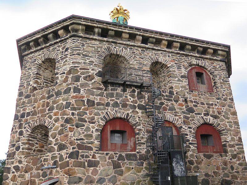 Miradores de Gotemburgo - Suecia - Skansen Kronan - Fortaleza