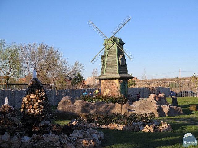 Molinos Holandeses del Parque Europa Madrid