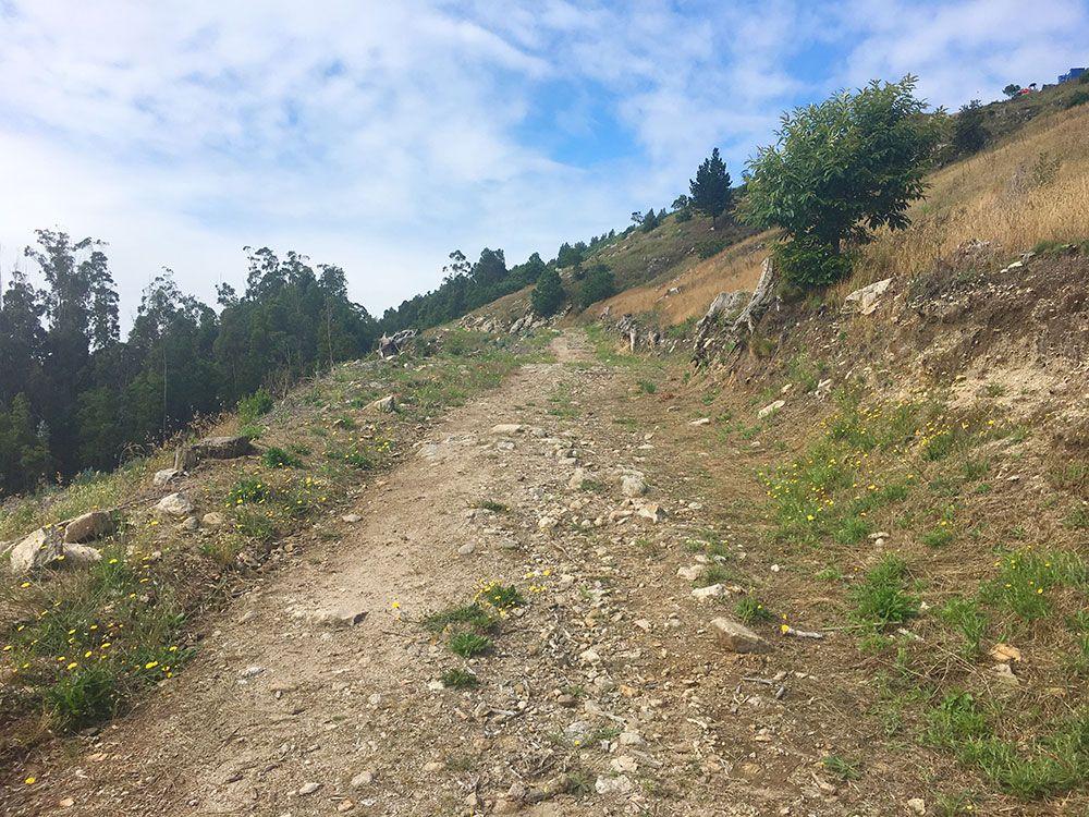 Monte de Santa Tecla - A Guardia - Senda