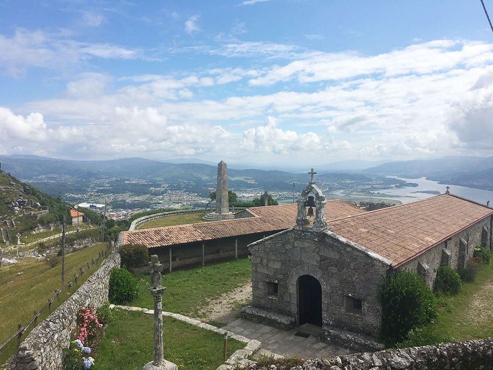 Monte de Santa Tecla - A Guardia - Ermita