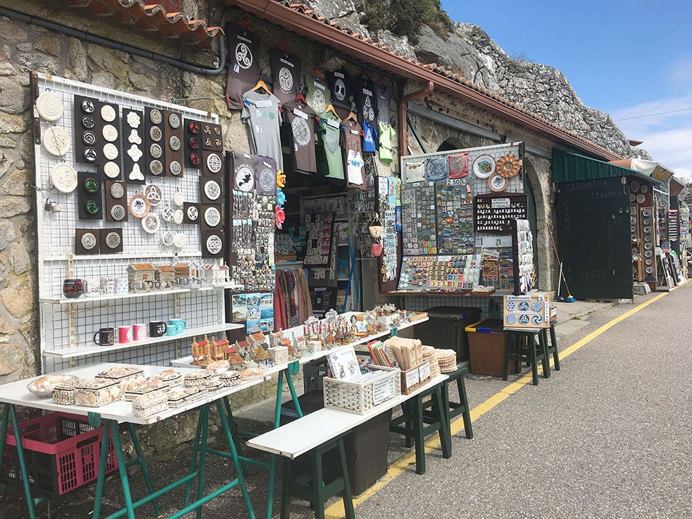 Monte de Santa Tecla - A Guardia - Souvenirs