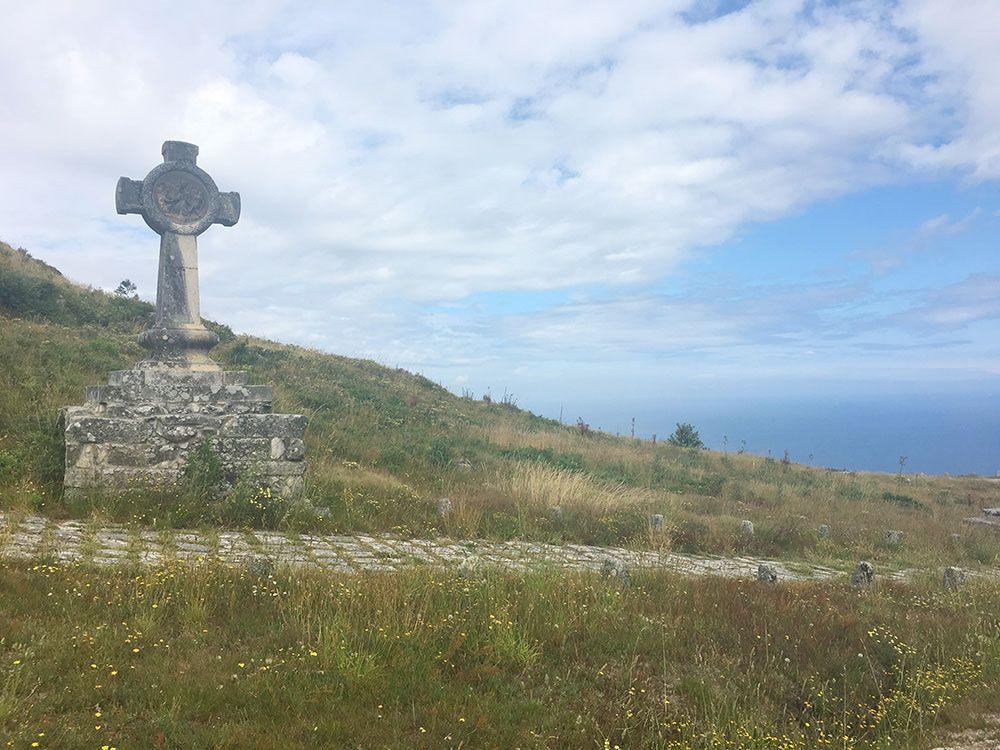 Monte de Santa Tecla - A Guardia - Vía Crucis