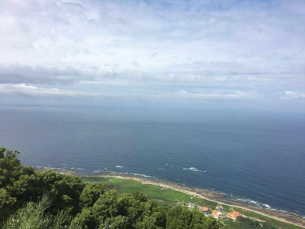 Monte de Santa Tecla - A Guardia - Océano Atlántico