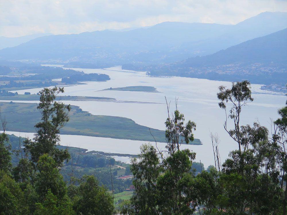 Monte de Santa Tecla - A Guardia - Esteiro do Miño