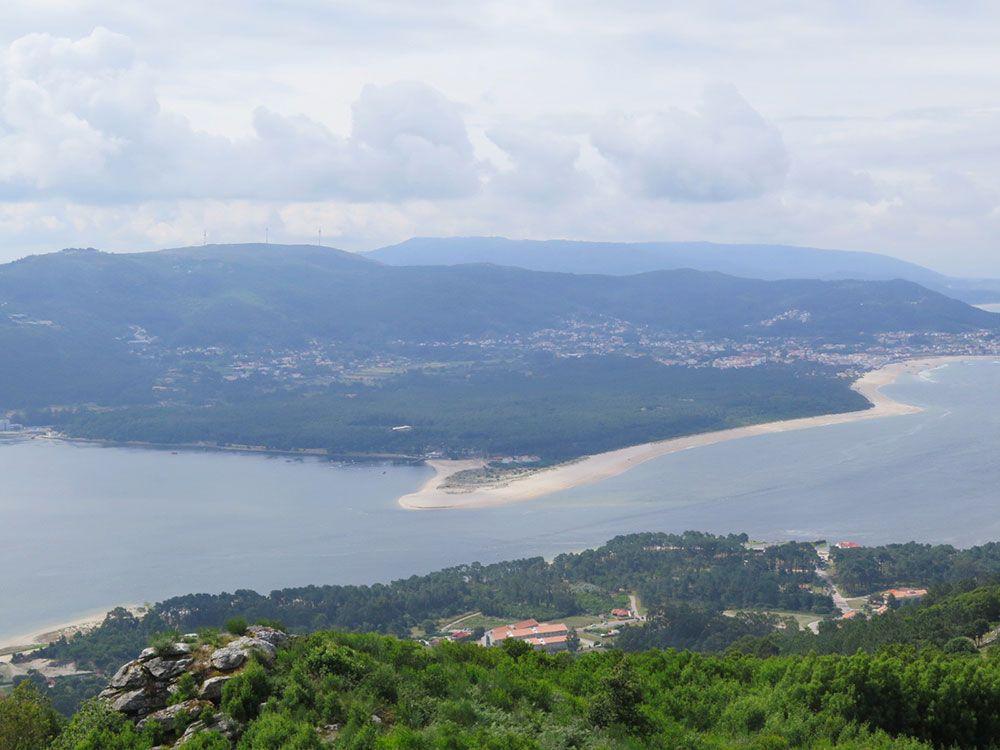Monte de Santa Tecla - A Guardia - Vistas de Portugal