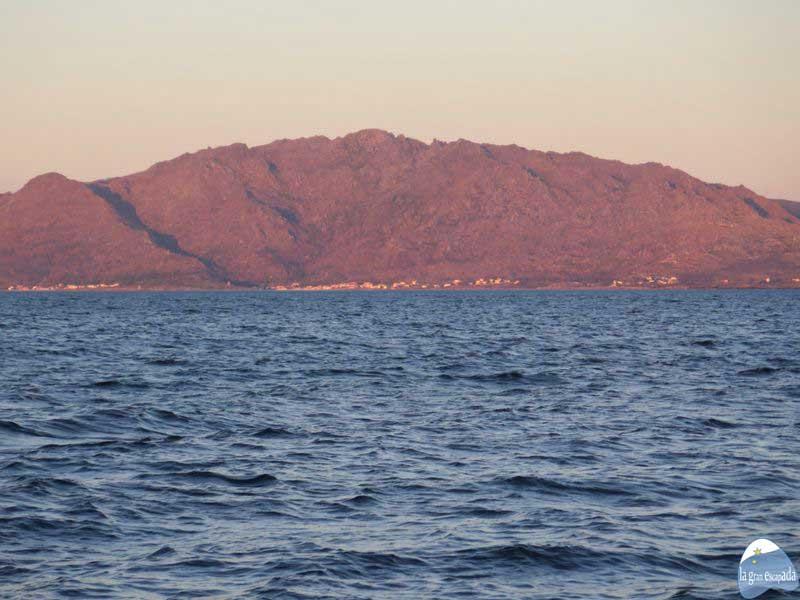 Monte Pindo desde el crucero por Fisterra