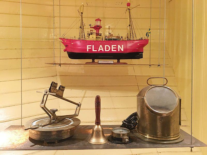 Museo Maritiman de Gotemburgo - Maqueta del Fladen