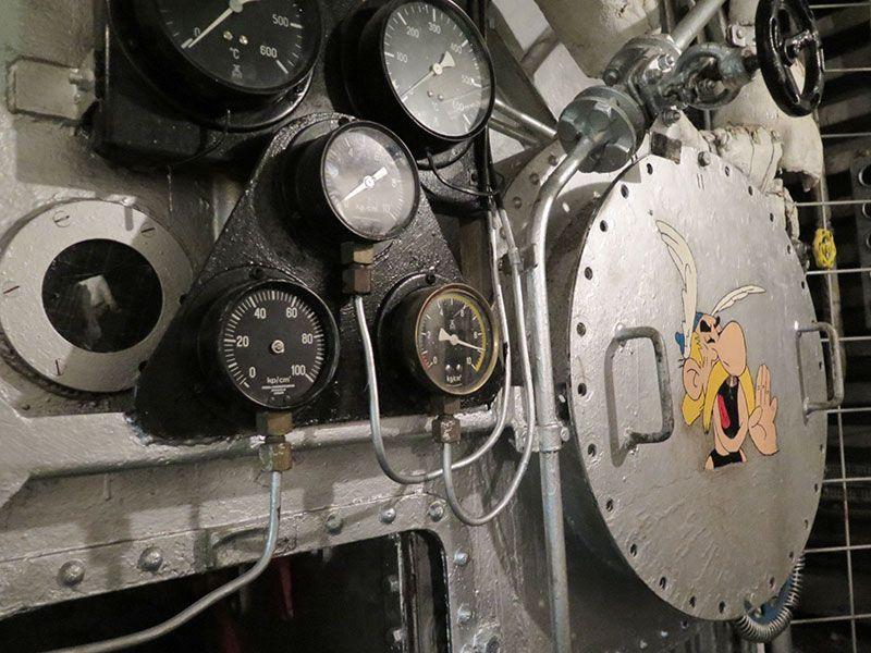 Museo Maritiman de Gotemburgo - Småland - Sala de máquinas