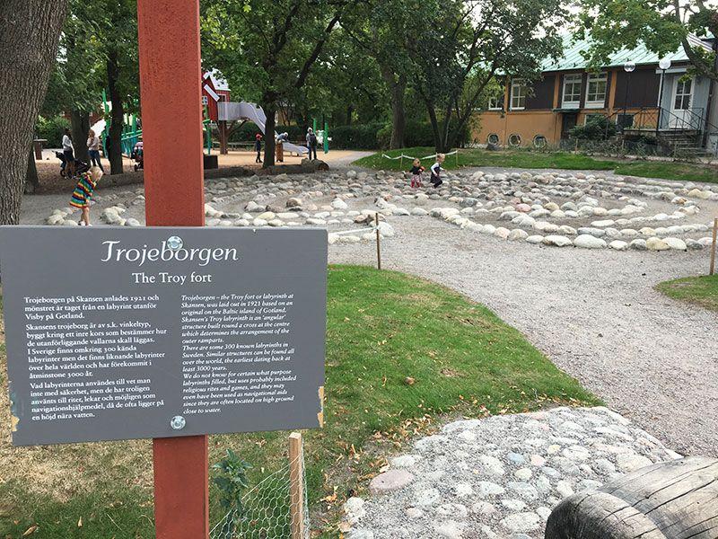Museo Skansen Estocolmo - Laberinto