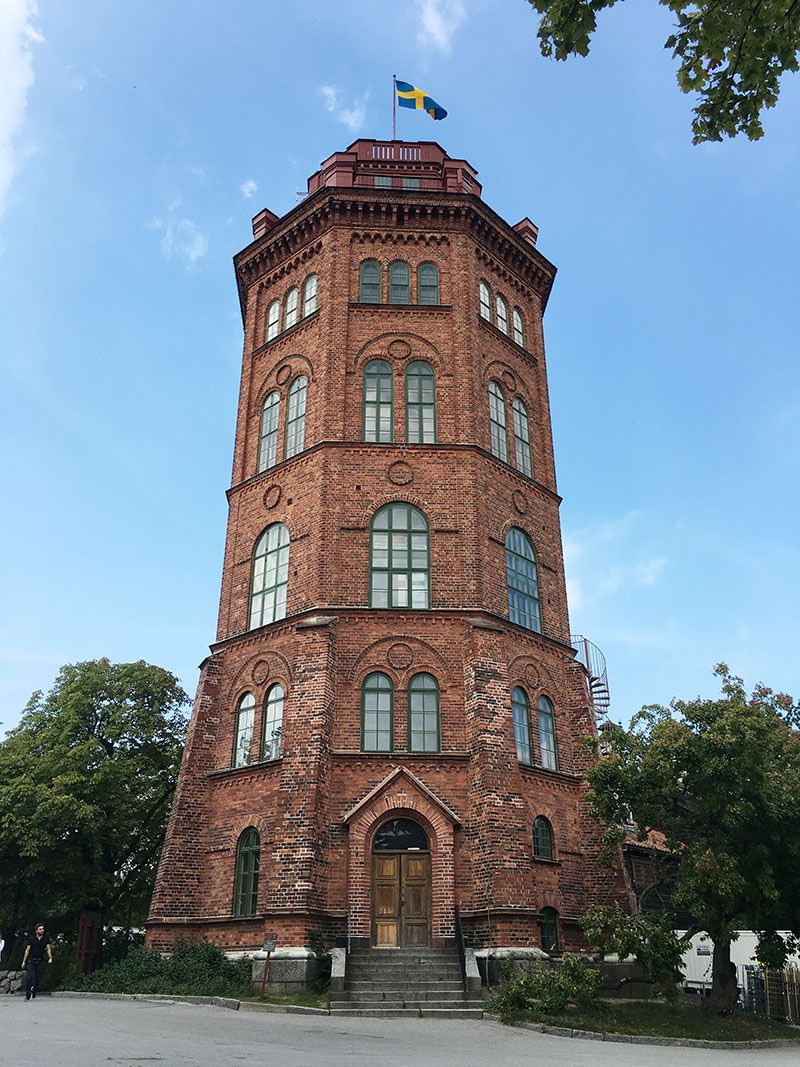Museo Skansen Estocolmo - Bredablick Tower
