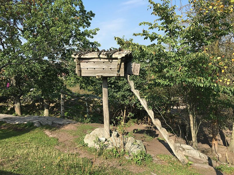 Museo Skansen Estocolmo - Timber shed