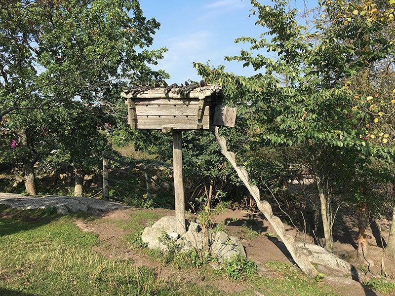 Museo Skansen Estocolmo - Timber shed