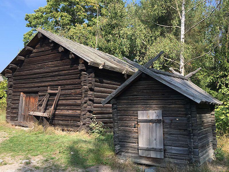 Museo Skansen Estocolmo - Casas tradicionales de Alvrös Farmstead