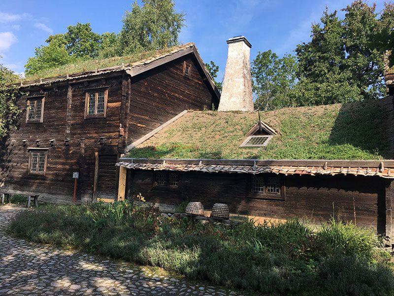 Museo Skansen Estocolmo - Construcciones tradicionales