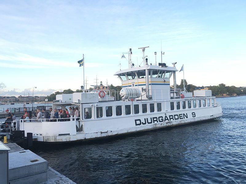 Museo Skansen Estocolmo - Ferry
