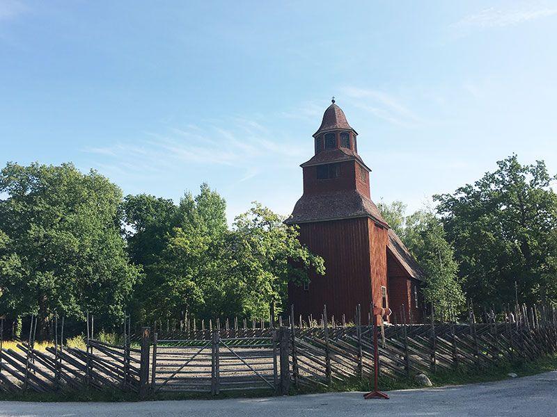 Museo Skansen Estocolmo - Iglesia Seglora