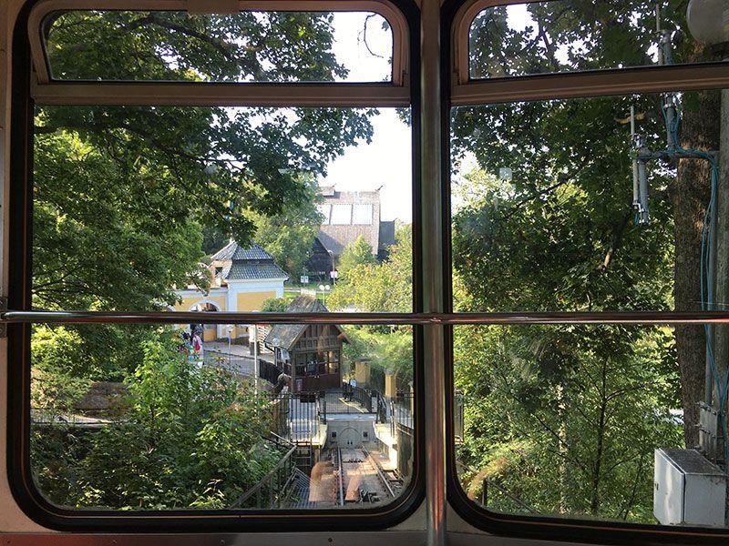 Museo Skansen Estocolmo - Vistas desde el funicular