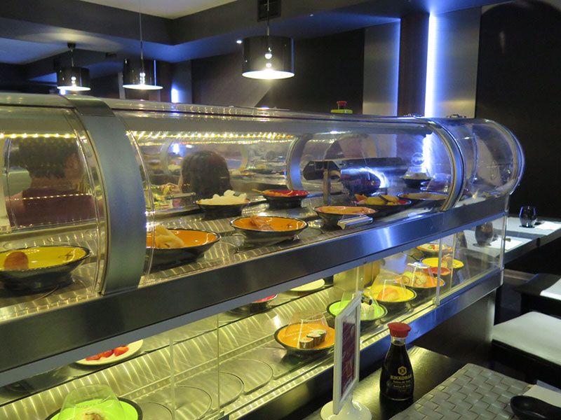Ninja Sushi Running - Restaurante japonés en Las Rozas - Madrid - Running sushi