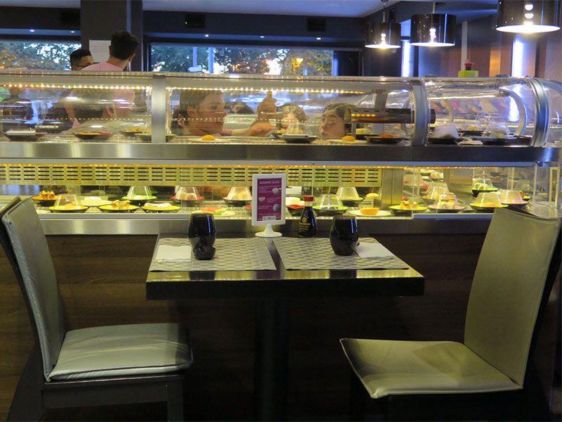 Enjoyable Ninja Sushi Running Una Divertida Y Deliciosa Experiencia Interior Design Ideas Inamawefileorg