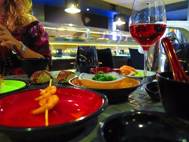 Ninja Sushi Running - Restaurante japonés en Las Rozas - Madrid - Nuestra mesa