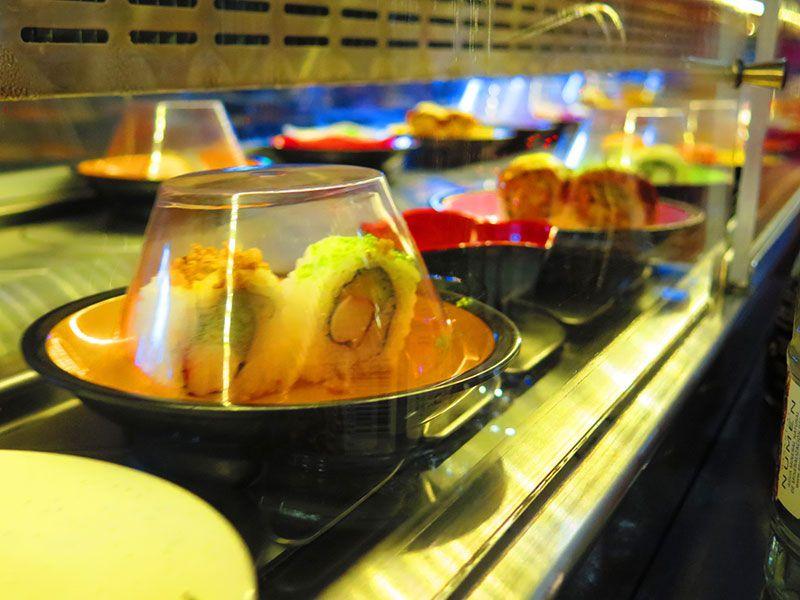 Ninja Sushi Running - Restaurante japonés en Las Rozas - Madrid - Cinta giratoria