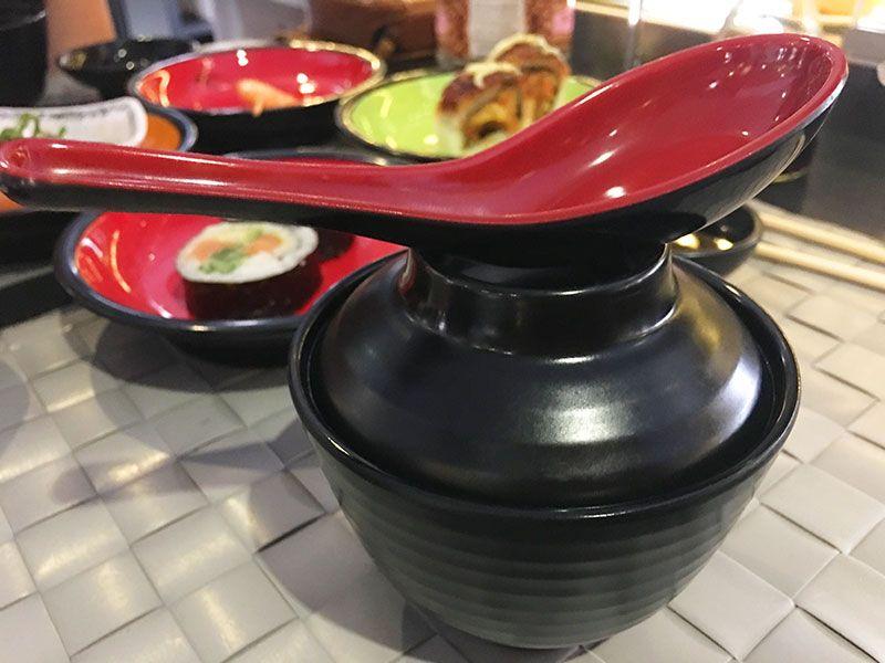 Ninja Sushi Running - Restaurante japonés en Las Rozas - Madrid - Sopa de miso