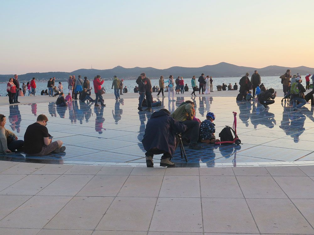 Saludo al Sol - Zadar