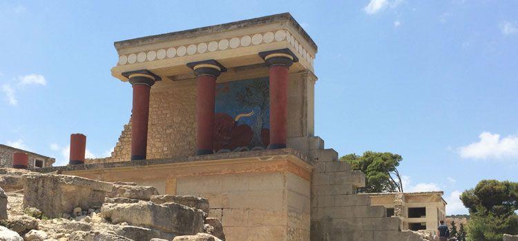 En busca del Minotauro en el Palacio de Knossos