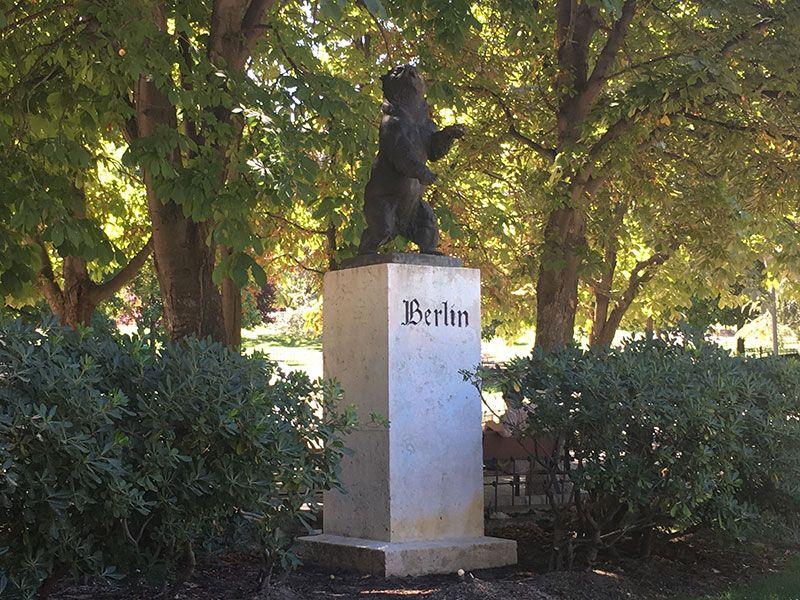 Parque de Berlín - Madrid - Osito