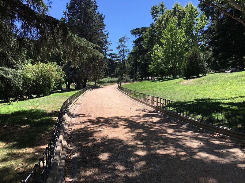 Parque de Berlín - Madrid - Senda Botánica