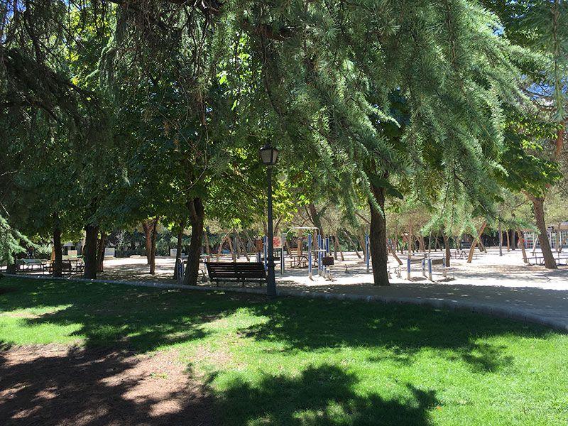 Parque de Berlín - Madrid - Zona infantil