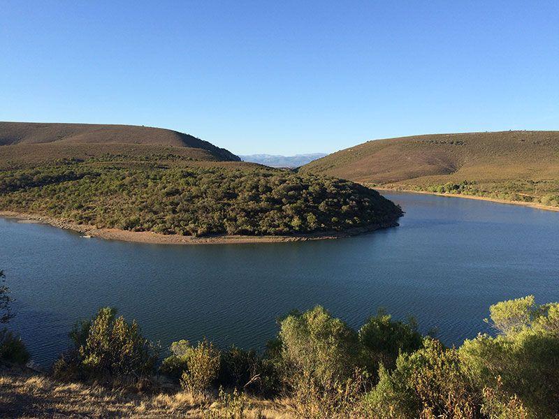 Parque Nacional de Monfragüe - El meandro del Tiétar desde el Mirador de La Higuerilla