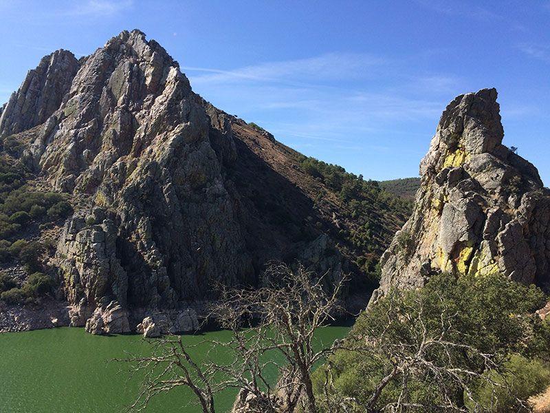 Parque Nacional de Monfragüe - Roquedal del Salto del Gitano