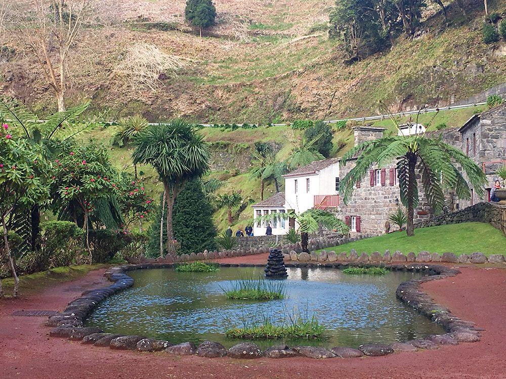 Parque Nacional Ribeira dos Caldeirões - São Miguel - Azores - Lago