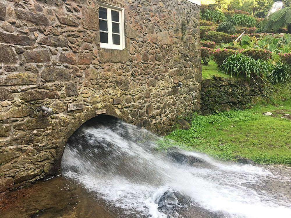 Parque Nacional Ribeira dos Caldeirões - São Miguel - Azores - Molino de agua