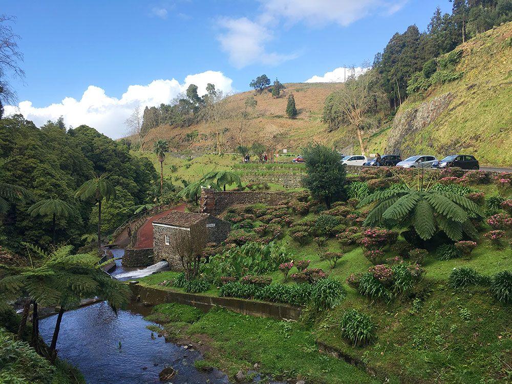 Parque Nacional Ribeira dos Caldeirões - São Miguel - Azores - Vista general