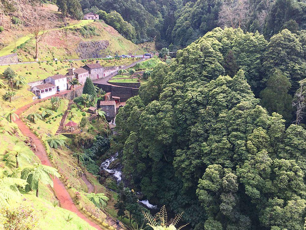 Parque Nacional Ribeira dos Caldeirões - São Miguel - Azores - Desde el mirador