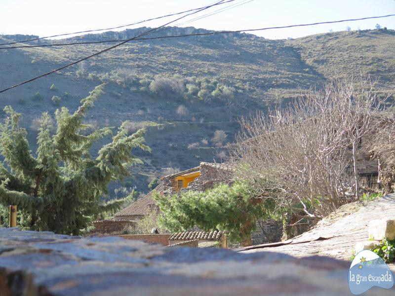 Vistas del monte y del pueblo