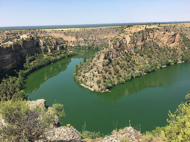 Piragüismo en la Hoces del Duratón - Meandro del río