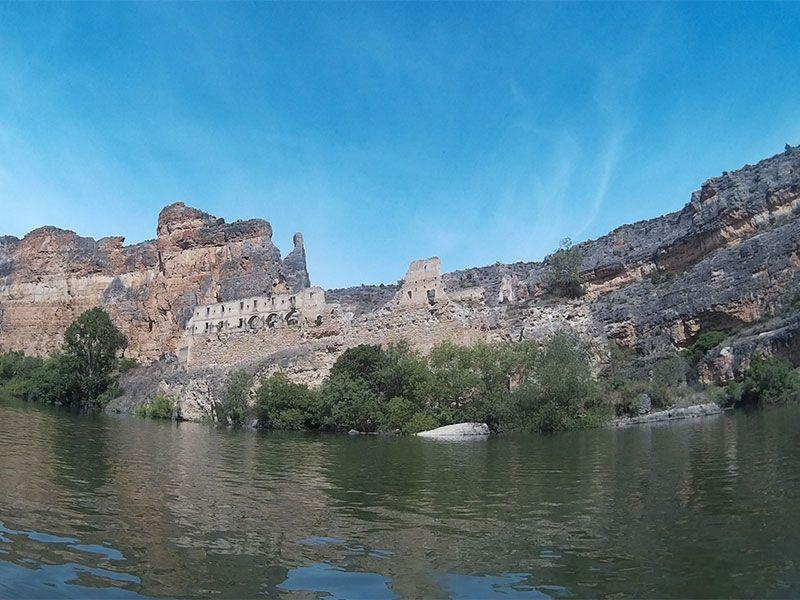 Piragüismo en la Hoces del Duratón - Ruinas del Monasterio de la Hoz