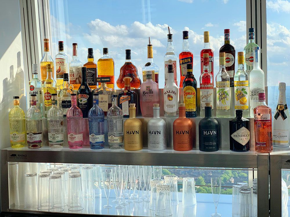 Planes diferentes en Londres - Bar en la 69º planta de The Shard
