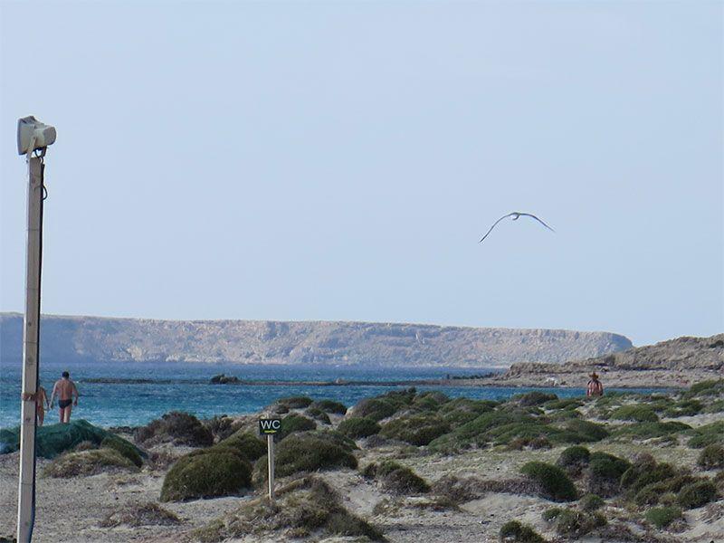 Playa de Balos. Servicios