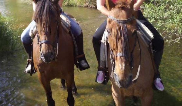 Ruta a caballo en el Parque Nacional de Cabañeros