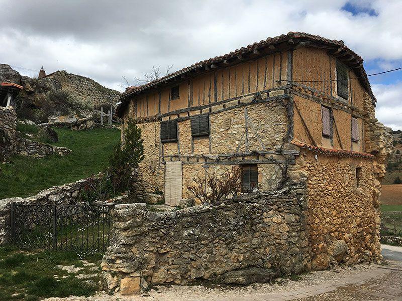 Qué ver en Calatañazor - Soria - Casa típica