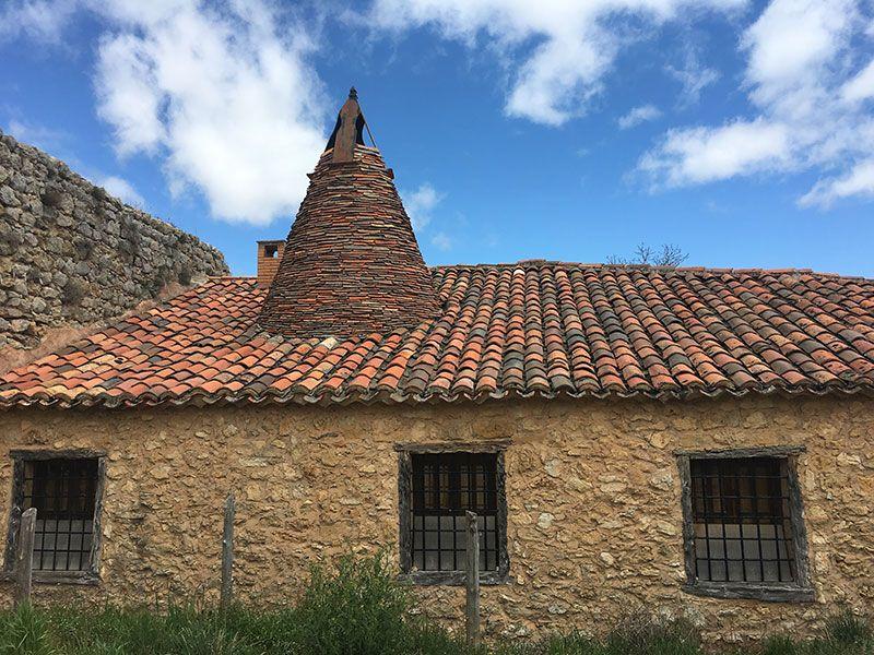 Qué ver en Calatañazor - Soria - Tejado típico