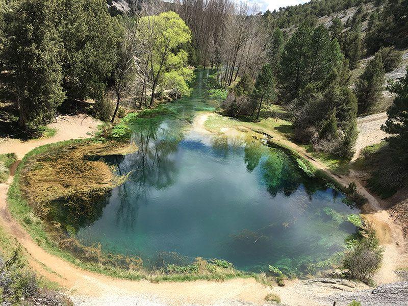 Pueblo medieval de Calatañazor - Soria - Monumento Natural de La Fuentona