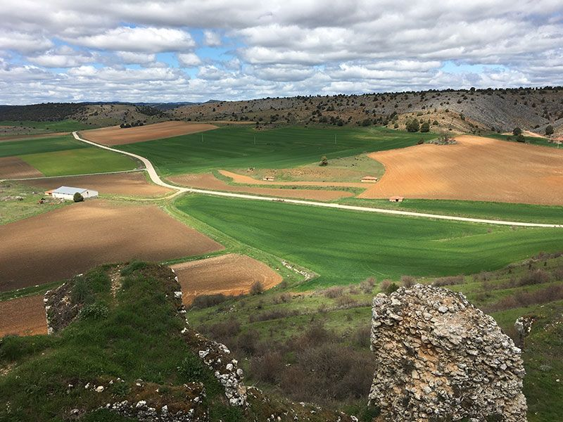 Pueblo medieval de Calatañazor - Soria - Valle de la Sangre