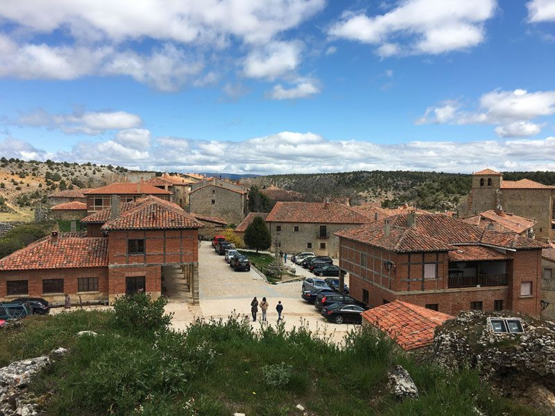 Pueblo medieval de Calatañazor - Soria - Vistas desde El Castillo
