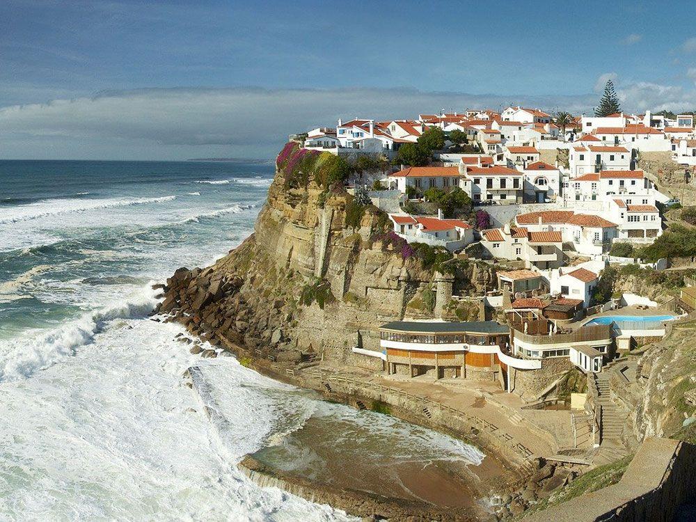 Pueblos con encanto cerca de Lisboa - Azenhas do Mar