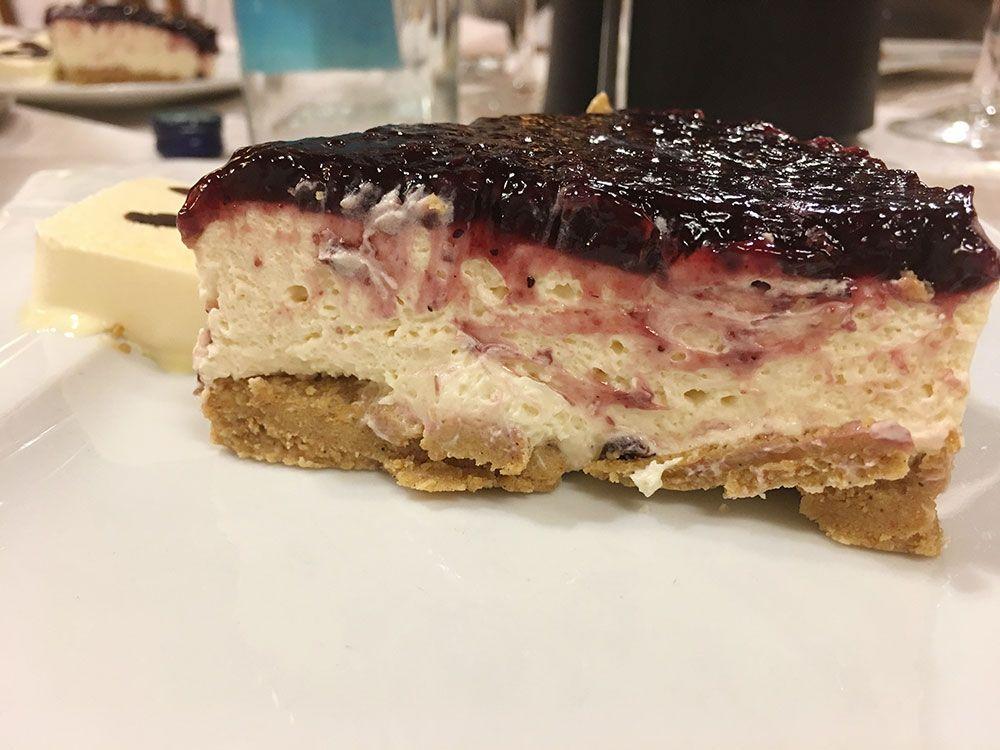Los pueblos más bonitos de la Costa Vasca - Bermeo - Restaurante Betxi - Tarta de queso
